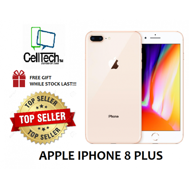[USED] APPLE IPHONE 8 PLUS 256GB GOLD LIKE NEW