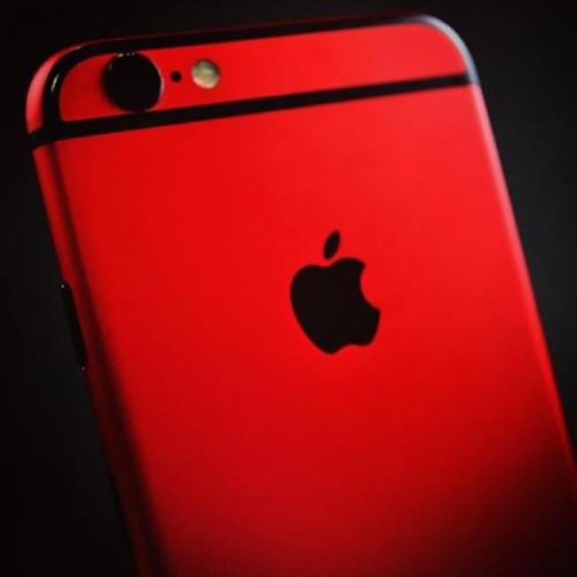 [USED] APPLE Iphone 6S PLUS 64GB RED BLACK  99% LIKE NEW